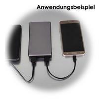 Quickcharge-Powerbank zum schnellen Laden mehrerer Geräte