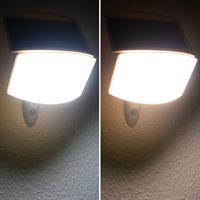 LED Außenleuchte mit 2 Leuchtfarben, kaltweiß oder warmweiß
