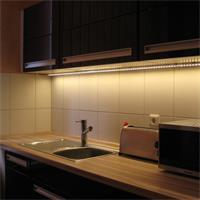 LED Lichtleiste mit breitstrahlenden LEDs für gute Ausleuchtung