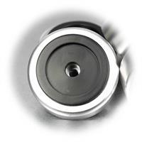 Vibrationsdämpfer mit Mittelbohrung M5 zum Befestigen am Gerät