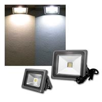 LED flood light outdoor | 10W/30W | pure/warm white