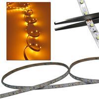 120cm FLEX SMD Streifen 72 LED gelb 12V PCB-WEISS