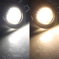 Flacher LED-Einbauspot in 2 Lichtfarben