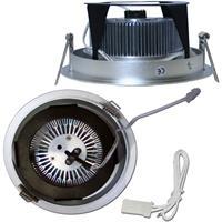 LED Downlight für 24V DC mit ca. 12W Verbrauch und Kunststoffsteckverbindern