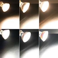 GU10 LED Spot mit unterschiedlichen Helligkeiten, Ersatz für Halogenlampen