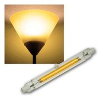 R7s Leuchtstab RS118 COB8 | warmweiß | 8W | 118mm, 2er Set