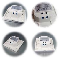 LED Wand-Einbauleuchte in 4 Ausführungen
