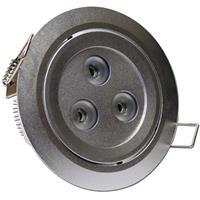 12V LED Leuchtmittel Cree in einem hochwertigem silber eloxiertem Aluminiumgehäuse