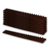 Sicherheits-Spikes, 10er-Pack | braun | Dornenleiste