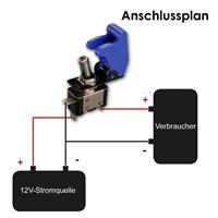 Anschlussplan für 12V-Kill-Switch-Schalter