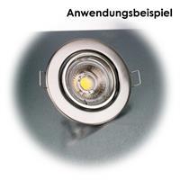 Deckeneinbaurahmen für MR16-Leuchtmittel mit Ø 50mm