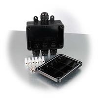 Kabelverbinder-Box für 4 Kabel mit Zubehör