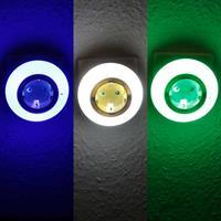 LED Nachtlicht mit 3 wählbaren Leuchtfarben