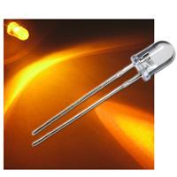 """20 LEDs wasserklar 5mm gelb Typ """"WTN-5-5000ge"""""""