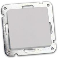 MILOS Wechsel-Schalter weiß matt | Unterputz | ohne Rahmen