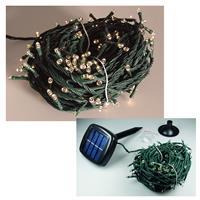 Solar LED Außen-Lichterkette - 200 LEDs warm-weiß