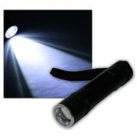 High performance LED torch 10W chip with zoom