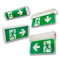 Emergency exit light | wall/ceiling mounting, indoor/outdoor