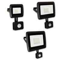 Tageslichtweißer LED Flutlichtstrahler in 3 Größen