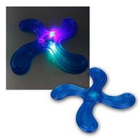 Wurfscheibe | 3 blinkende LEDs | Ø 21cm| 4-armig