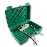 Witterungs- und wetterbeständige Kabelbox,5 Kabeldurchführungen