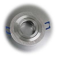Decken-Einbaurahmen mit chrom-matter Bi-Color Oberfläche