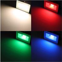 RGB-LED-Fluter, 10W, spritzwassergeschützt, 800lm