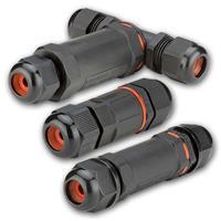 Kabelmuffe für Kabel 1,0 -2,5mm² | IP68 wasserdicht  3 Typen