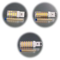 Stiftsockellampe G9 mit 3,5, 5 oder 6W in 2 Lichtfarben