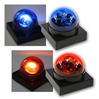 LED Partylicht-Buzzer | Party-Gag | Blaulicht/Rotlicht