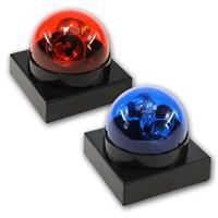 Batteriebetriebener Party-Buzzer Rotlicht oder Blaulicht