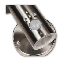Wetterfeste Zylinder-Wandleuchte mit E27-Fassung