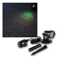 Weatherproof Garden Laser | IP44 | red/ green