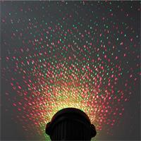 wetterfester IP44 Gartenlaser, 4 LED, 230V