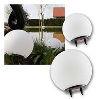 LED Solar Ball Light | Ø 20 or 25cm | neutral white