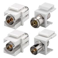 Keystone Modul SAT/Antenne | Koax-Buchse/-Stecker > F-Buchse