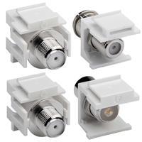 Keystone Modul Koax-Buchse/Stecker > F-Buchse