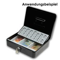 Geldkassette mit herausnhembarem Münzeinsatz