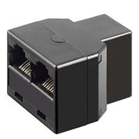 RJ45 coupler | Y-adapter| network splitter CAT6