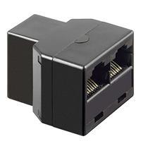 RJ45-Adapterbuchse für Netzwerkkabel