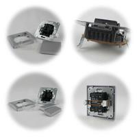 DELPHI Wechsel-Schalter, 2-fach Serien-Schalter 250V~/ 10A