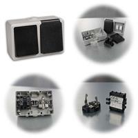 Feuchtraum Schalter+Steckdose Taff, 250V, IP44