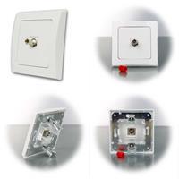 DELPHI ST-Simplex Netzwerkdose für Lichtwellenleiter