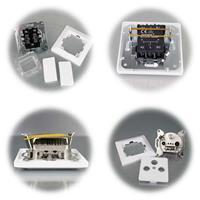 MILOS 2-fach Serien-Schalter und Antennendose