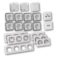 MILOS Set entertain | 22 pieces, white, socket for ISDN/CAT