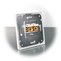 Lautsprecherdose für UP-Gerätedosen geeignet