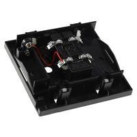 Doppelklang-Gong, Betrieb über 8V AC oder 9V-Blockbatterie
