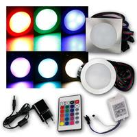 RGB downlight FINE | full set AC adapter + RGB control box