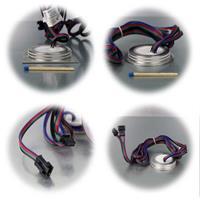 Komplett Set RGB Einbauleuchten mit Controller und Netzteil
