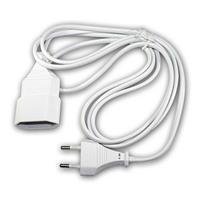Euro extension cable | white 2 /2,9/ 5m | Euro extension